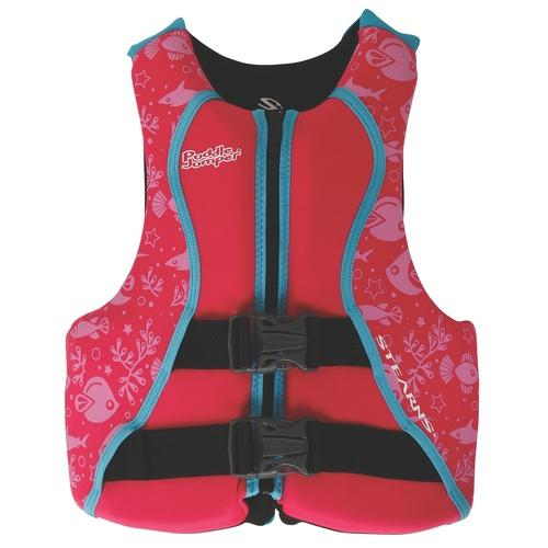 Coleman Puddle Jumper Youth Hydroprene Life Jacket-Red/Pink