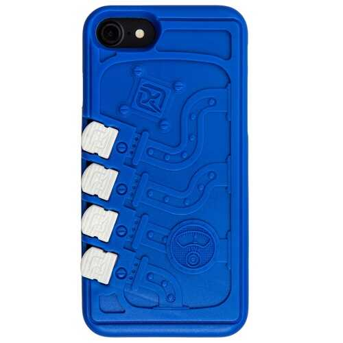 Klecker Carrier Phone Case iPhone 7 Mechanical - Blue
