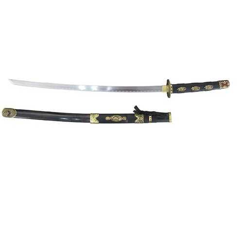 Master Cutlery SW-89BK Samurai Sword 26.50 in Blade