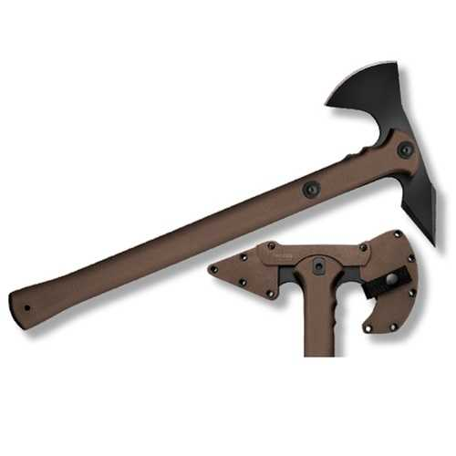 Cold Steel Trench Hawk Drop Forged Axe 8.75 in Head FDE Hndl