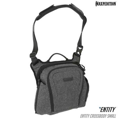Maxpedition ENTITY Crossbody Bag Small Charcoal