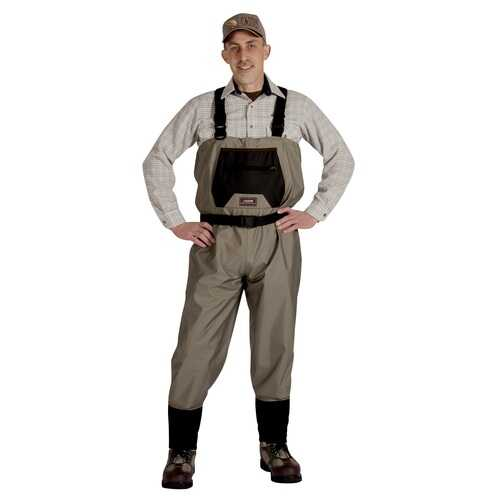 Caddis Men's Breathable Stockingfoot Waders - Large Tan