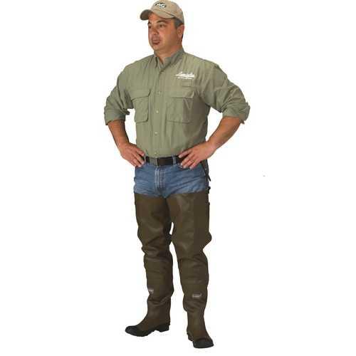 Caddis Men's Rubber Hip Boots 10