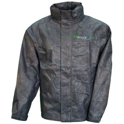 Envirofit Solid Rain Jacket Black XX-Large