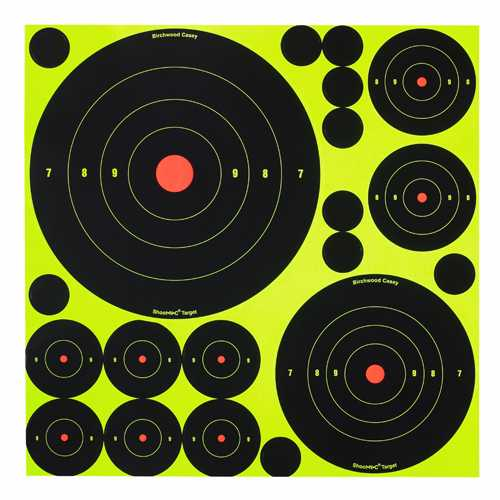Birchwood Casey Shoot-N-C Bulls-eye Assortment