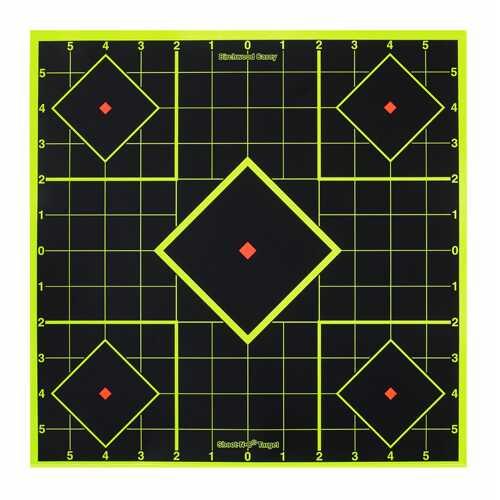 Birchwood Casey Shoot-N-C 8in Sight-In Target - 15 Targets