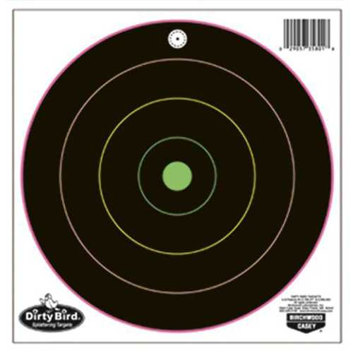 Birchwood Casey Dirty Bird 10-12in Bullseye Trgts 10PK