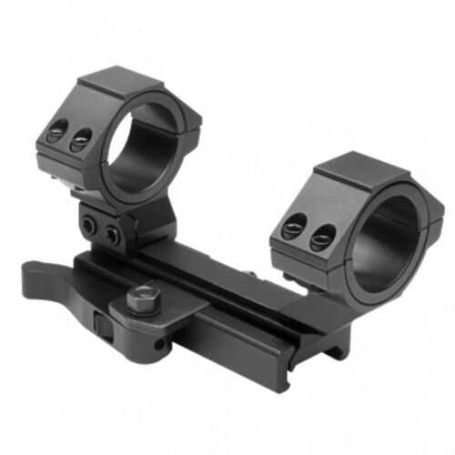 NcSTAR AR15 QR WeaverCant Scope Mnt RearRing-30MM-1in Insert