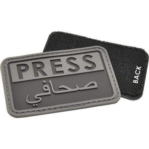 Hazard 4 Press Patch Eng/Arabic Black
