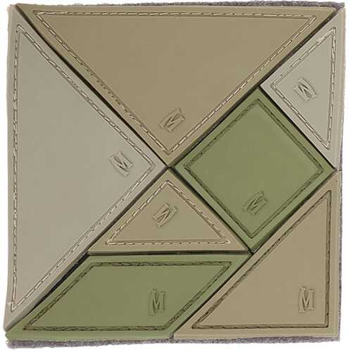 Maxpedition Morale Patch Arid Tangram 7-Piece 3.0 x 3.0 in