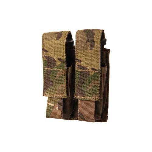 Blackhawk Double Pistol Mag Pouch MOLLE Multi Cam