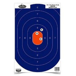 Birchwood Casey 12in x 18in Blue Orange Silhoutte-50 Targets