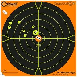 "Caldwell Orange Peel 12"" Bulls-Eye: 50 Sheets"