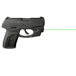 LaserMax CenterFire Laser Grn-Grip Sense RugerLC9/LC380/LC9S