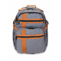 US Peacekeepers INCOG Backpack Grey/Rust 12.5x18x8