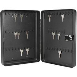 Barska 60 Keys Lock Box With Combination Lock Black