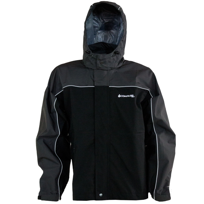 Compass 360 RoadForce Reflective Riding Jacket-Slate/Blk-XX