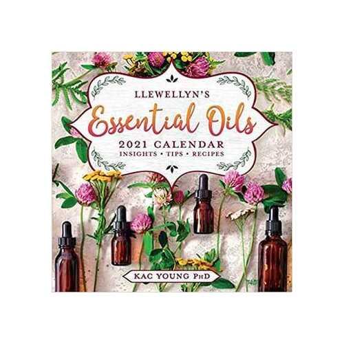 2021 Essential Oils Calendar by Llewellyn