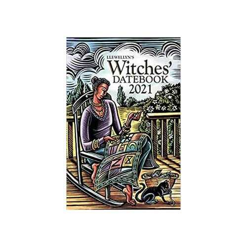 2021 Witches Datebook by Llewellyn