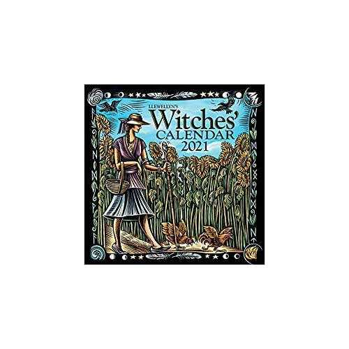 2021 Witches' Calendar by Llewellyn