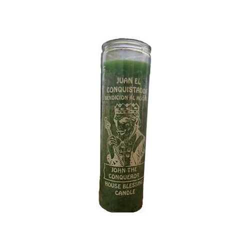 John Conqueror Green 7 Day jar candle