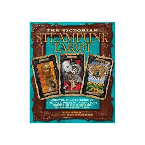 Victorian Steampunk tarot by Liz Dean