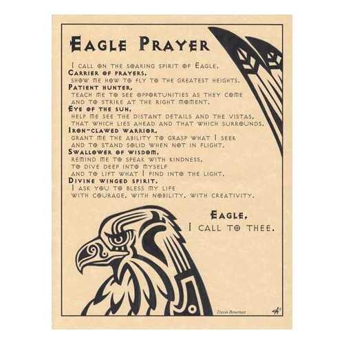 Eagle Prayer poster