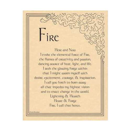 Fire Evocation poster