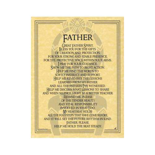 Great Father Spirit poster