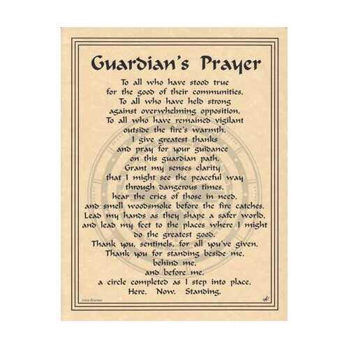 Guardian's Prayer poster