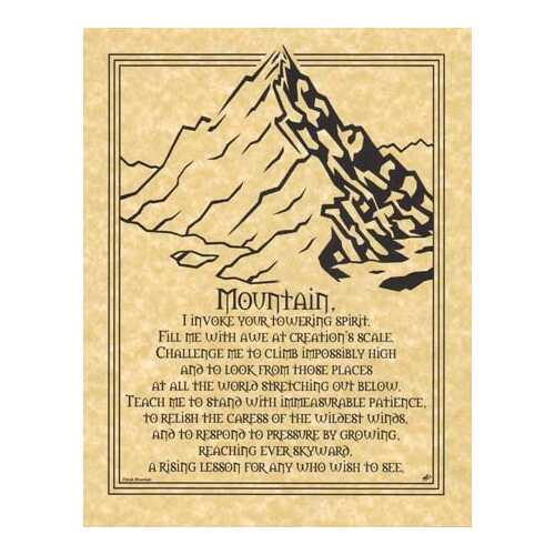Mountain Prayer poster