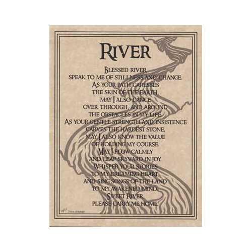 River Prayer poster
