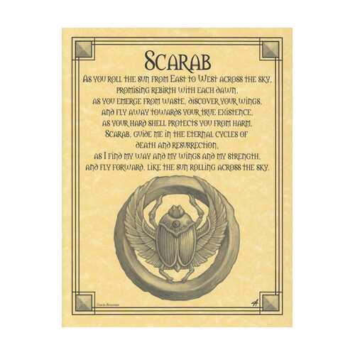 Scarab Prayer poster