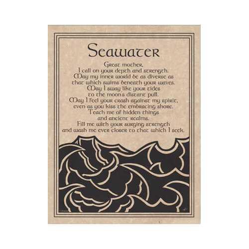 Seawater Prayer poster