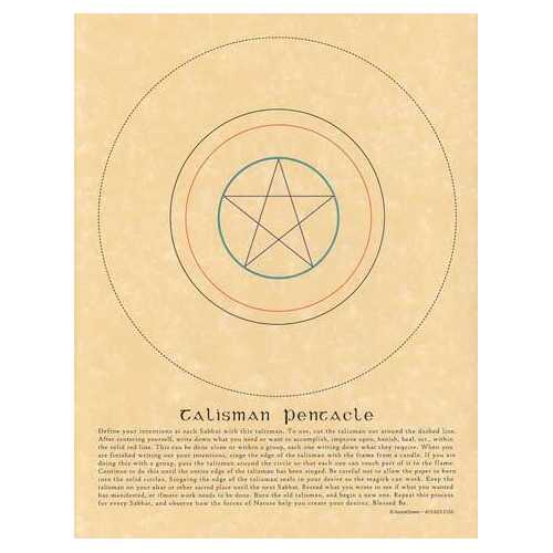 Talisman Pentacle poster