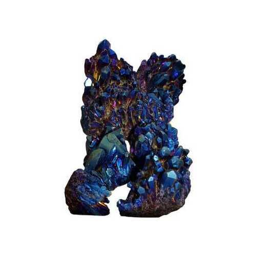 5# Quartz cluster with Blue color