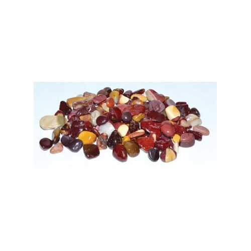 1 lb Mookaite tumbled chips 6-8mm