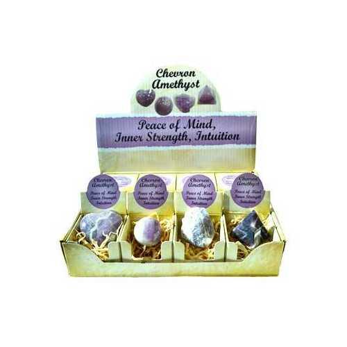 Amethyst, Chevron gift box (set of 12)