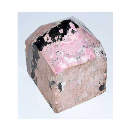 Rhodonite top polished point