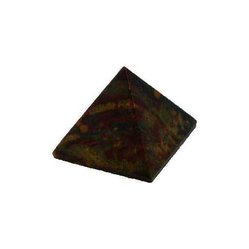 25-30mm Bloodstone pyramid