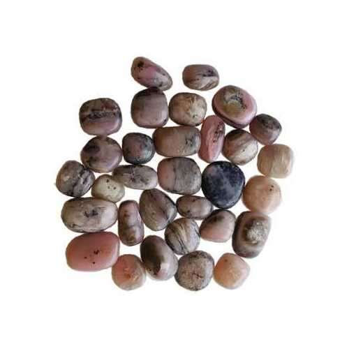 1 lb Opal, Pink tumbled stones