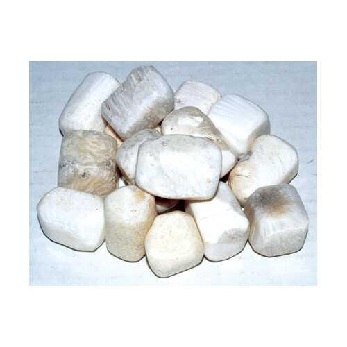 1 lb Scolecite tumbled stones
