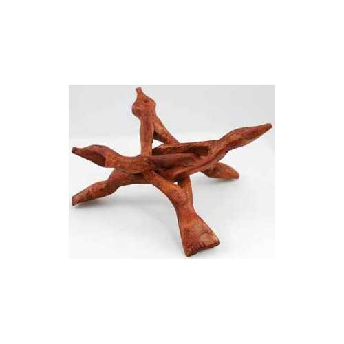 3 Legged Wooden stand 6""