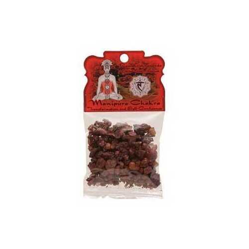 1.2oz Manipura Chakra resin incense
