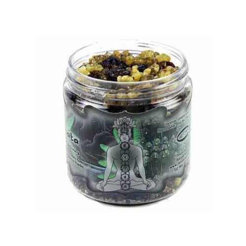2.4oz jar Anahata resin incense