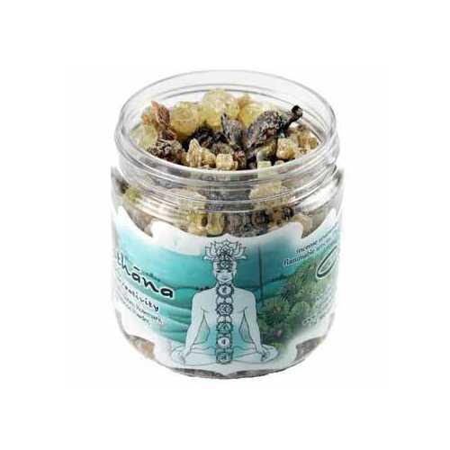 2.4oz jar Svadhisthana Chakra resin incense