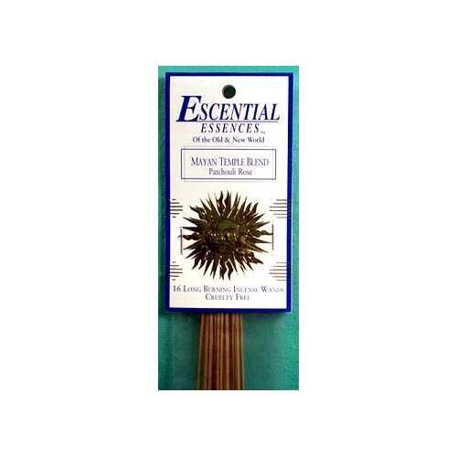 Mayan Temple essential essences incense sticks 16 pack