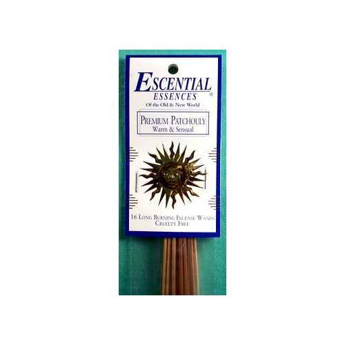 Patchouli escential essences incense sticks 16 pack