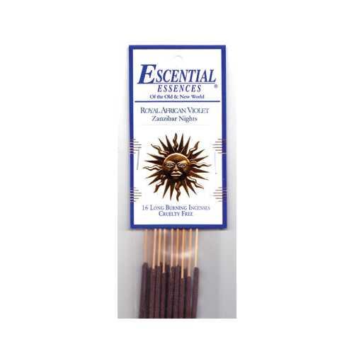 Royal African Violet escential essences incense sticks 16 pack