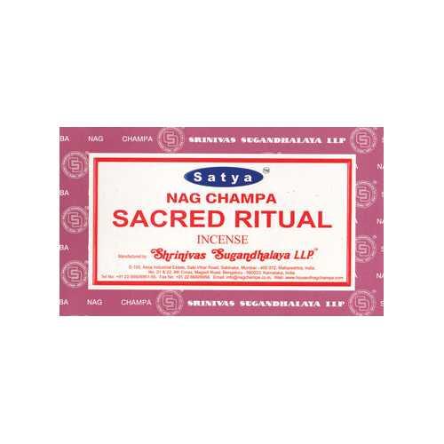 Sacred Ritual satya incense stick 15 gm